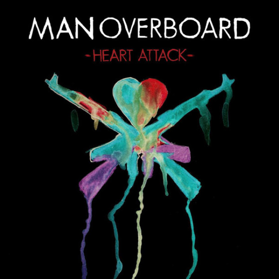 Man Overboard - Heart Attack Album Cover
