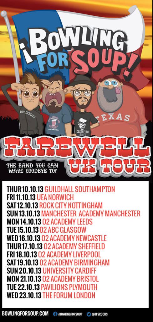 Bowling For Soup Farewell UK Tour