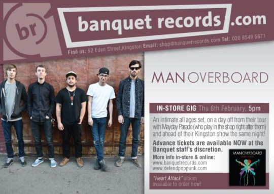 Man Overboard Banquet Records