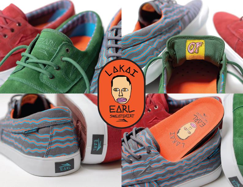 f6abab1620bb Earl Sweatshirt collaborating with skate shoe company Lakai