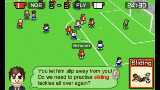 Nintendo Pocket Football Club In-Game Match Engine